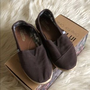 Toms Classic Chocolate Canvas